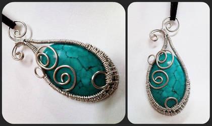 Turquoise Swirls by sodacrush