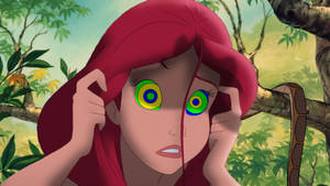 Kaa and Ariel's Staring Contest by DrPepperMantra