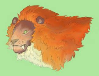 Primal Lion Final by Naburius