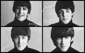 Wallpaper: The Beatles by superfluidmessdreams