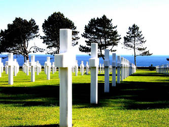 American Graveyard at Normandy by polaropposite