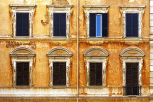 Windows of Rome by FeliDae84