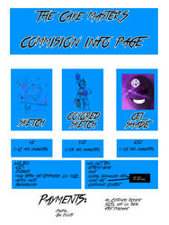 Commision Information (2018) by The-Cake-Master