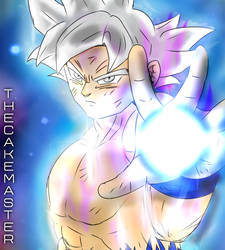 Mastered Ultra Instinct Goku by The-Cake-Master