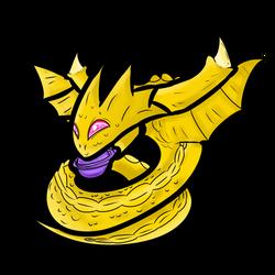 Chibi Super Shenron Without Background by The-Cake-Master