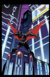 Batman Beyond by duanenicholsart