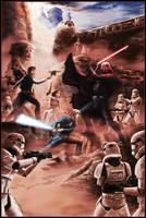 Star Wars: It's A Trap!! by duanenicholsart