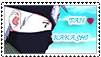 Kakashi Fan Stamp by SheepTea