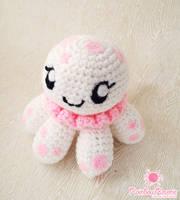 Clara Princess Jellyfish Amigurumi by RainbowReverie
