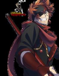 D.Gray-man Hallow: Lavi render by AyakaYukihiro