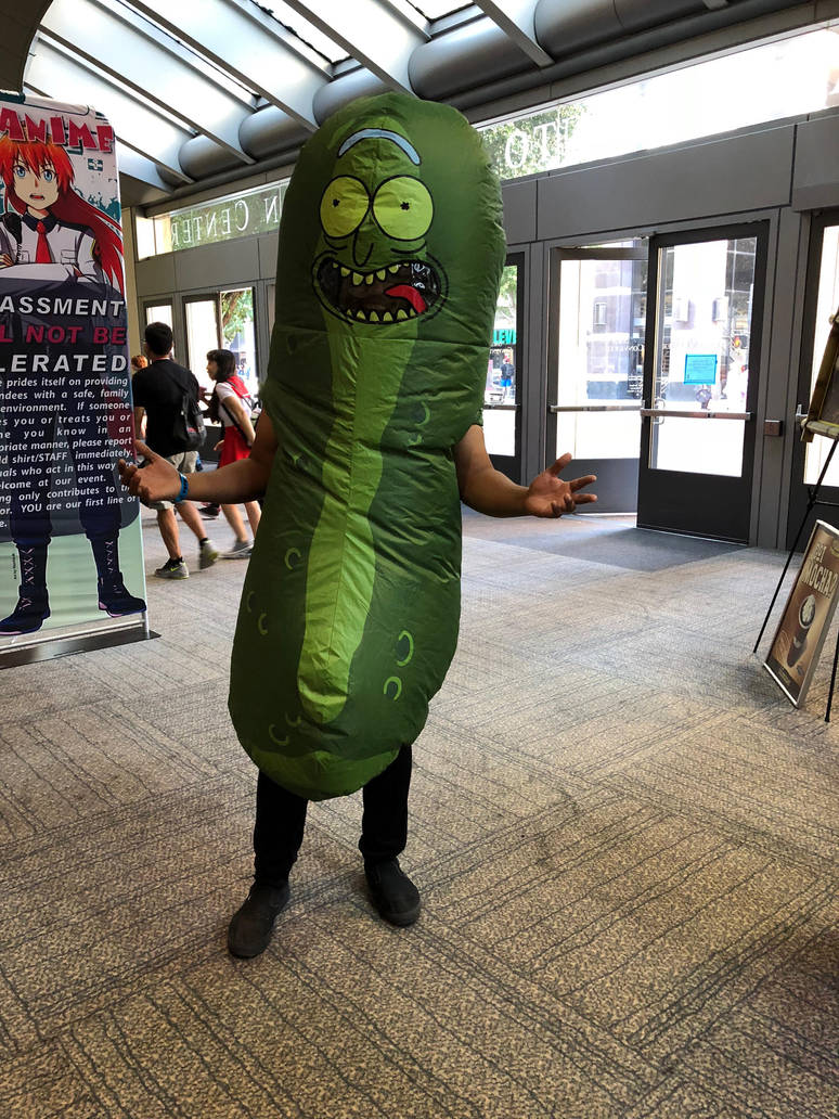 Pickle Rick by FrogGod1