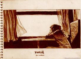 SKETCH ON THE ROAD-009 by zeekolee