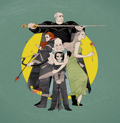 Game of Thrones by zeekolee