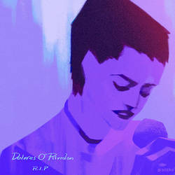 R.I.P  Dolores O'Riordan by zeekolee