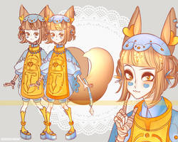 OPEN Fox Spirit Adopt Auction by pewquick