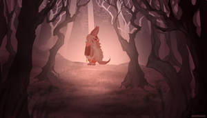 Made in Abyss : Nanachi in the dark by pewquick