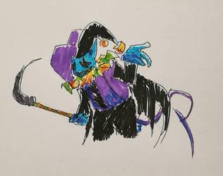 Jevil by dragonturner