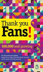 100000 fans Aaj Press ad by murtaxa-k
