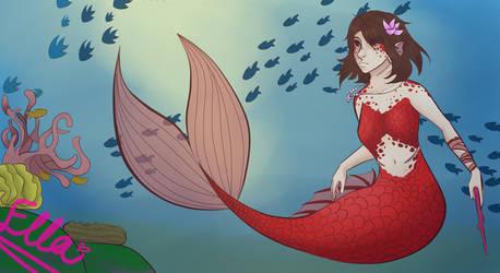 Mermaid by faflame101