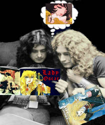 Lady Robert or The Plant of Led Zeppelin by hija-de-luna
