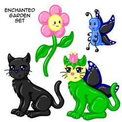 Kitty+Flower+Butterfly+Hybrid by Solloby