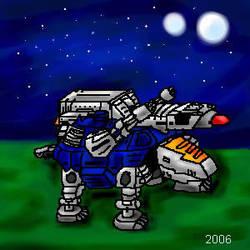 Zoids Missile Tortoise Oekaki by Solloby