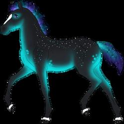 N4207 Padro Foal Design - Sorc x Misty by Solloby