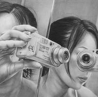 Self Portrait by tarenora