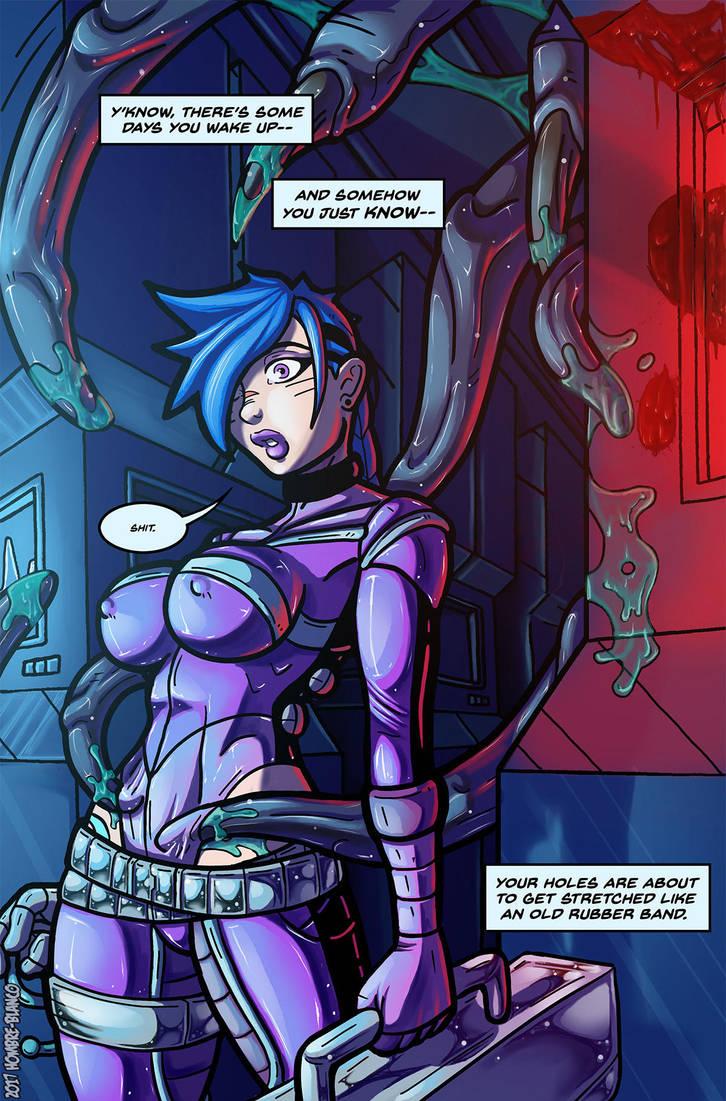 Space Slut Zhara - Page 8 by hombre-blanco