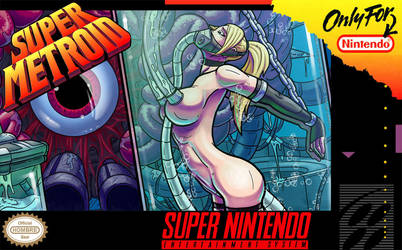 'Super Metroid Hentai Box Art 2' Electric Boogaloo by hombre-blanco