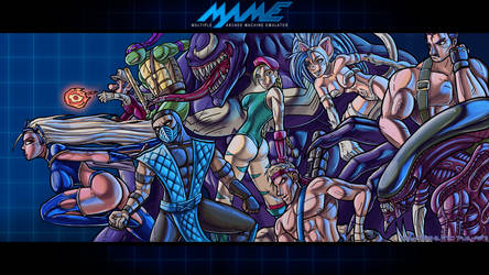 90's Arcades -  The Wallpaper by hombre-blanco