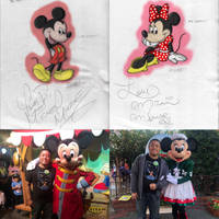 Happy 90th Birthday Mickey and Minnie by DisneyVista