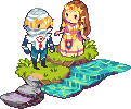 Heroines from Another Land: Zelda and Sheik by Ichitoko