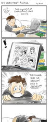 My Very First 4Koma by mysterycycle