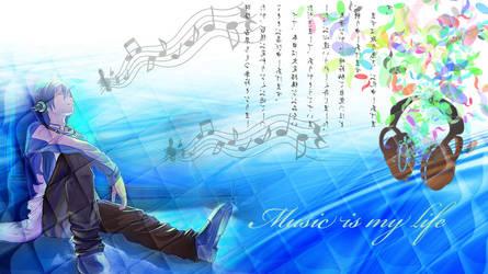Music is my life by Aisu-nee-chan