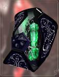 Green Catecrystal by Aarki