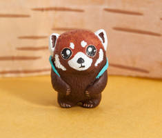 Red panda, the Explorer totem by lifedancecreations