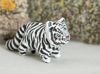 White tiger totem by lifedancecreations