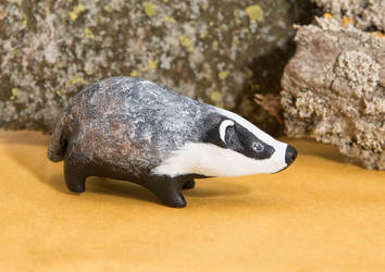 Badger totem by lifedancecreations