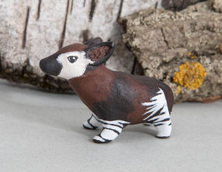 New okapi totem available by lifedancecreations