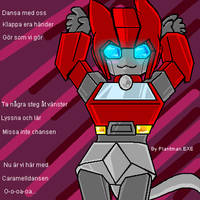TF -Kitty Ironhide Caramelling by plantman-exe
