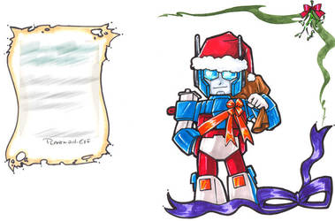 TF - Christmas Ultra Magnus by plantman-exe