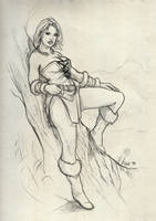Tyra Ulfensdottir in a casual tunic by orogion