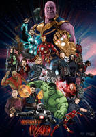 Infinity War poster by MateusCosme