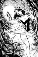 Snow White and the Huntsman - Inks by Brianskipper