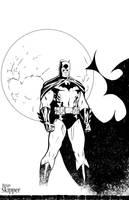 Batman - Inks by Brianskipper