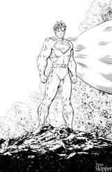 Superman - Inks by Brianskipper