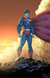 Superman - Colors by Brianskipper