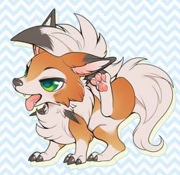 Dusky pup by Kiwibon