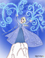 Elsa the Snow Queen: Let The Storm Rage On! by NY-Disney-fan1955